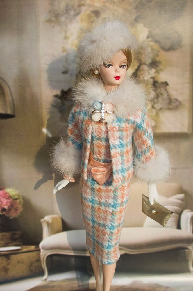 OOAK outfit made for Vintage Silkstone Barbie by M_L Handmade One Of A Kind