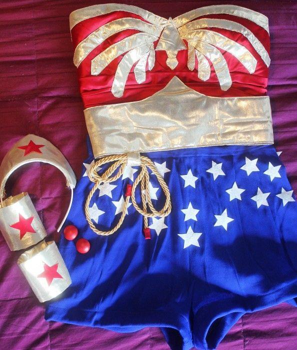 DIY Wonder Woman Costume Transformation (Diy Costume Animal)