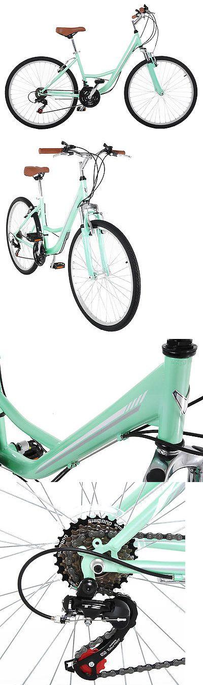 bicycles: Vilano C1 Womens Comfort Road Bike Shimano 21 Speeds 26 Wheels -> BUY IT NOW ONLY: $149.0 on eBay!