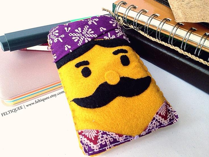 Mr. Mustache | www.feltiquee.etsy.com