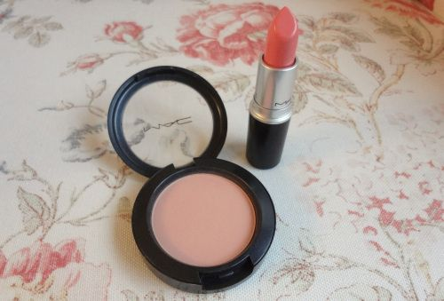 MAC Coral Bliss lipstick Stay By Me blush main