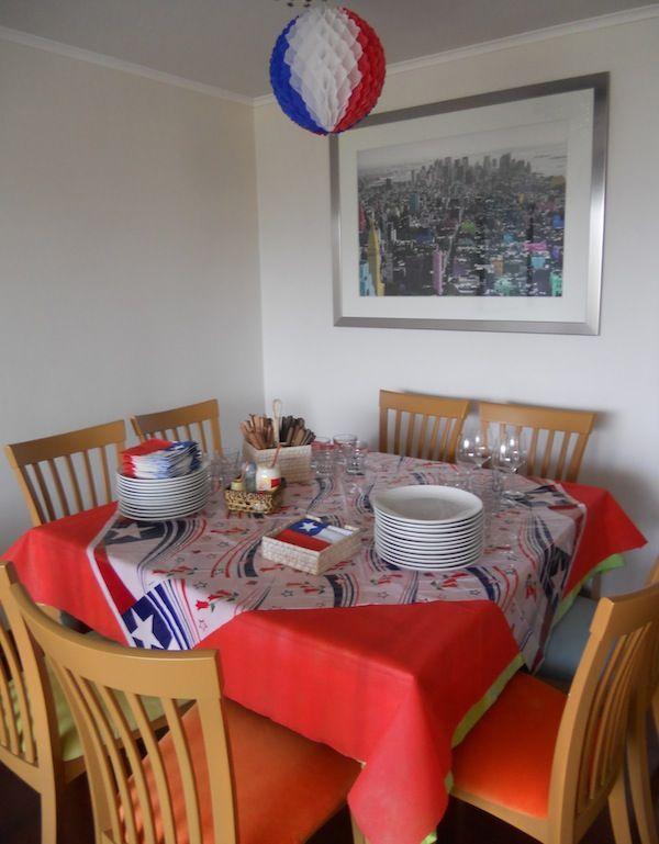 decoración de 18 de septiembre para la mesa de chile - Buscar con Google
