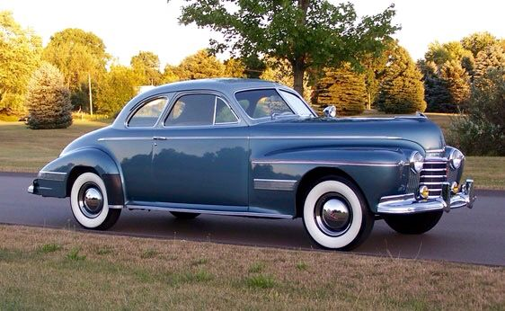 1941 oldsmobile 98 club coupe vintage automobiles for 1941 oldsmobile 4 door sedan