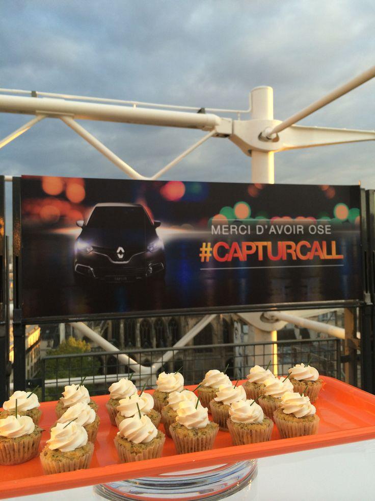 Exposition privatisée Henri Cartier-Bresson au Centre Pompidou ! #CapturCall #Paris #pastries #appetizers #cupcakes