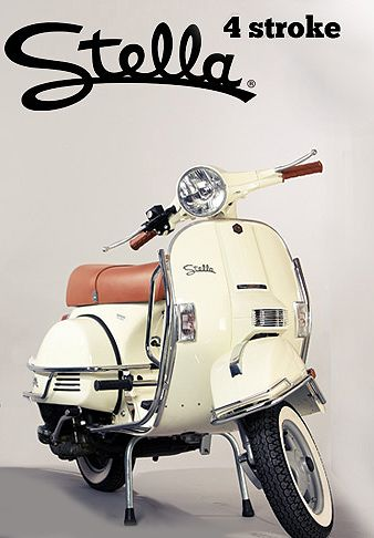 Modern Vespa : Stella release party at Motorsport Scooters TODAY! 4pm
