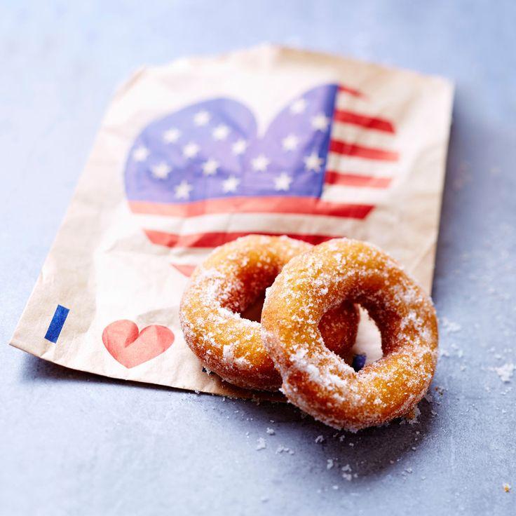 Découvrez la recette des donuts américains
