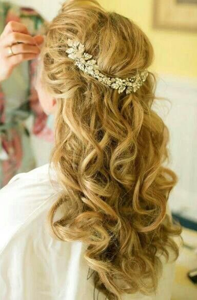 Penteado, noiva