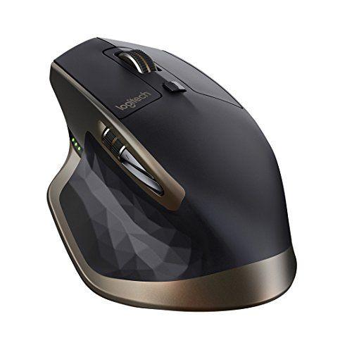 Logitech MX Master Souris sans fil pour Windows et Mac Noir: Forme ergonomique adaptée à la main Batterie rechargeable d'une durée de 40…