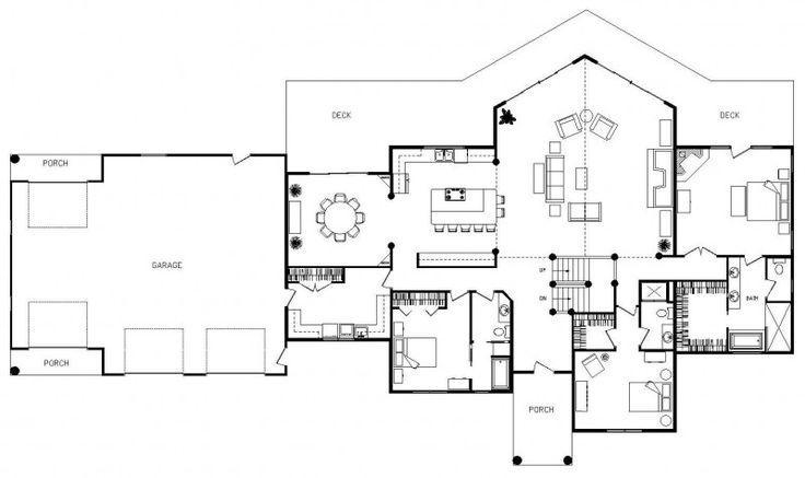 Best 25+ Open Floor Plan Homes Ideas On Pinterest