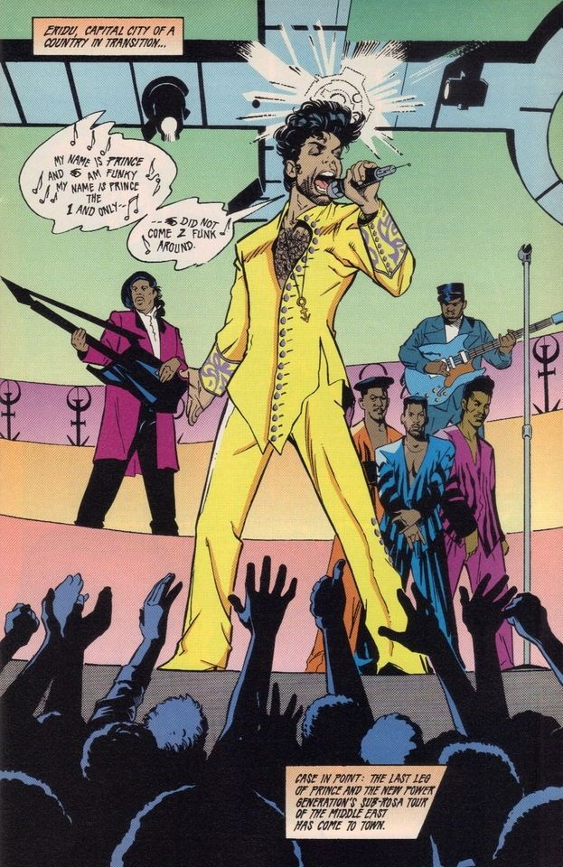 Prince, comic art