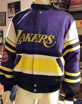 Jeff Hamilton LA Lakers Jacket ~ Size L ~ New