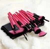 Nuevo llega 32pcs / set Maquillaje juego de brochas de maquillaje profesional de los cepillos de nylon Cepillo para maquillaje cosméticos faciales Herramientas de la venta caliente