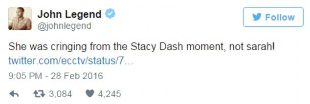 Stacey Dash's bizarre Oscars cameo falls flat