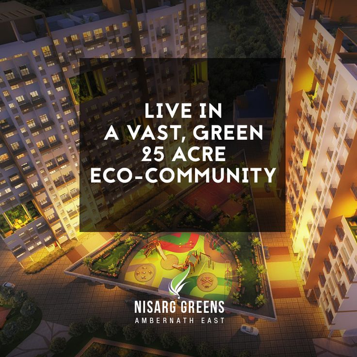 Live in a vast, Green 25 Acre Eco-Community To know more log on to: http://www.nisarggroup.com/greens/ Or you can call on: 08655 787878   SMS 'GREENS' to 56161 #realestate #residential #property #homes #residences #nature #greens #ecoluxury