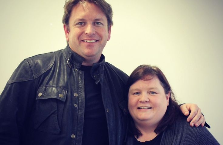 James Martin and Tots100 founder Sally Whittle