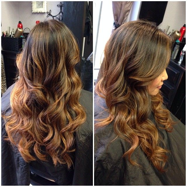 Balayage- I dk what that means but it looks cool