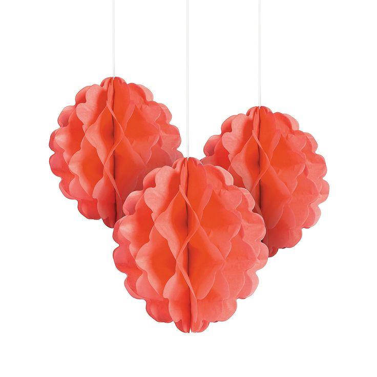Coral+Tissue+Balls+-+OrientalTrading.com