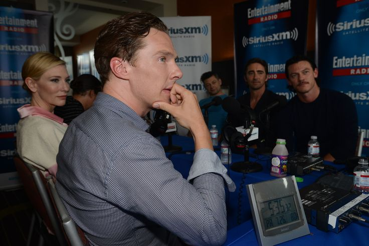 Benedict Cumberbatch Photos: SiriusXM's Entertainment Weekly Radio Channel Broadcasts From Comic-Con 2014