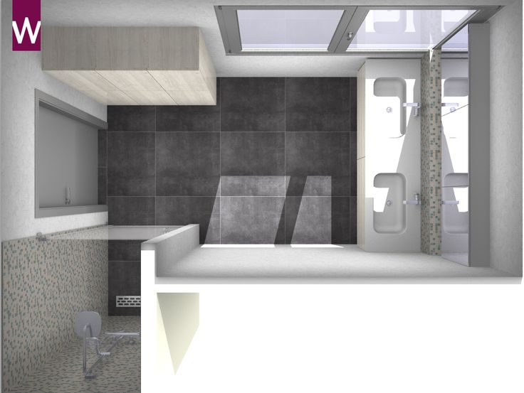 61 best images about 3d badkamer ontwerpen on pinterest for Ontwerp 3d badkamer