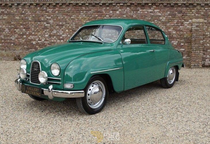 Saab 96 De Luxe Shortnose Bullnose Coupe 1963 Green De Luxe Shortnose Bullnose Car For Sale 215209 Classic Cars Cars For Sale Blue Car