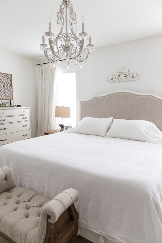 Simply White By Benjamin Moore Best Paint Color Master Bedroom So Much Better With Age