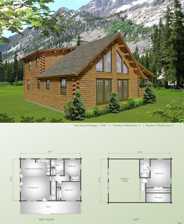 17 Best Images About Big Twig Homes Llc Log Home Plans On