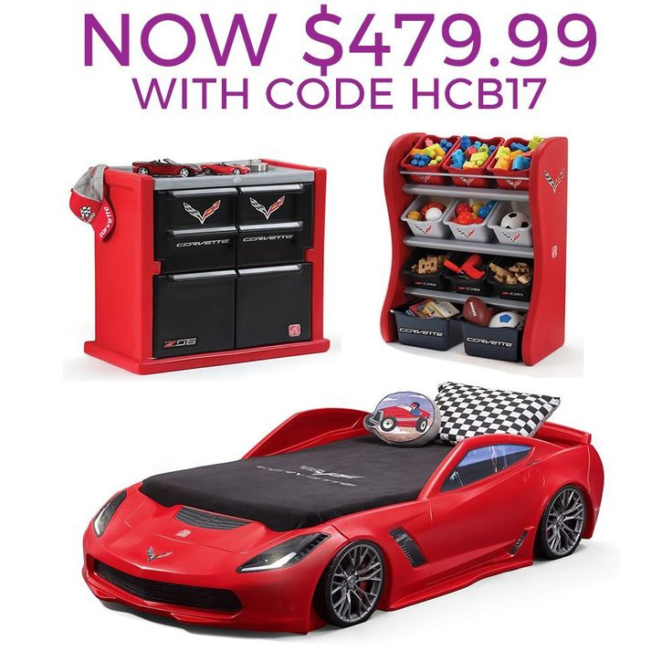 Corvette Bedroom Combo By Step2 Is Our Most Popular Race