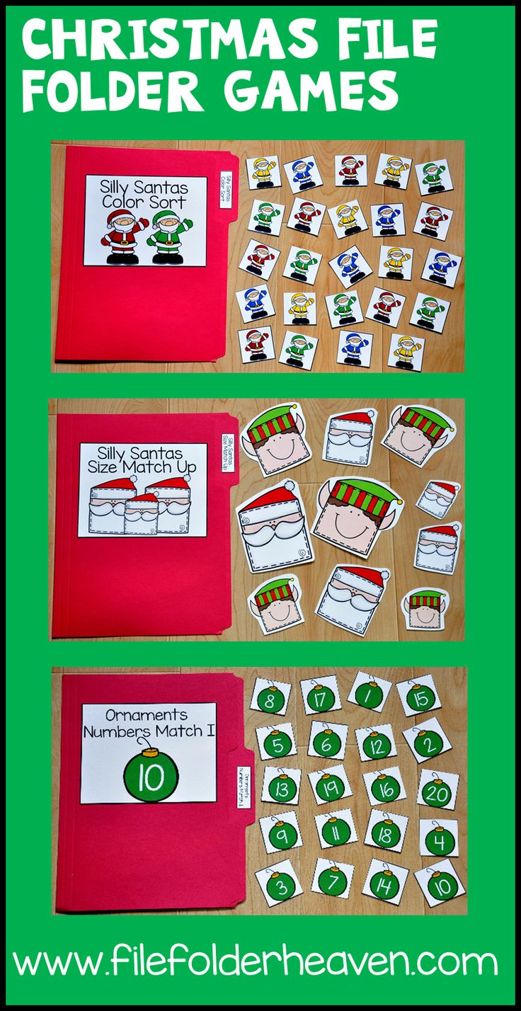 198 best Preschool - File Folder Games images on Pinterest ...