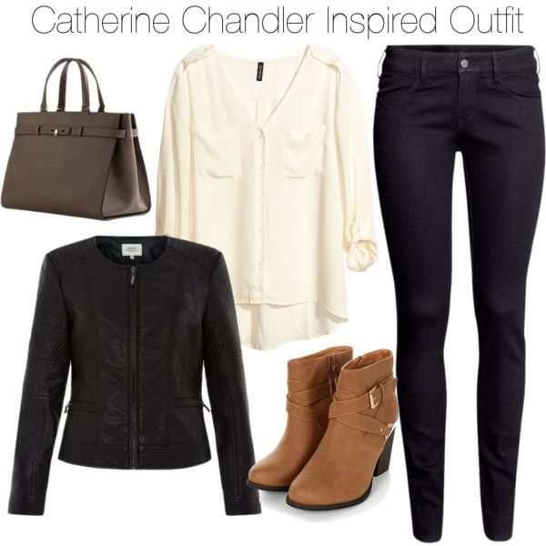 Beauty & the Beast - Catherine Chandler Inspired Outfit by staystronng on Polyvore featuring H&M, Boots, BATB and catchandler