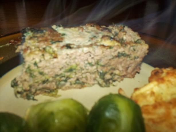 Gyro Meat Loaf W/ Tzatziki Sauce from Food.com:   								I found this in a cooking magazine and it was submitted by Mandy Rivers from Lexington, SC. I've also added Greek seasoning. For the suggested tzatziki sauce, I would recommend using Tzatziki Cucumber Dipping Sauce.
