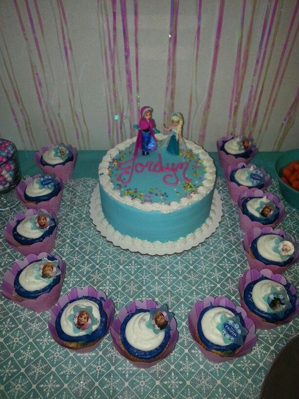 24 best Frozen cake and cupcakes ideas images on Pinterest