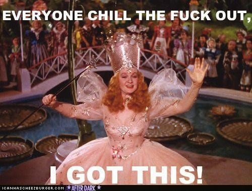 Glinda is a BAMF: Laughing, Go Girls, Quotes, Witch, Dr. Oz, Funny Stuff, Humor, Wizards Of Oz, I Got This