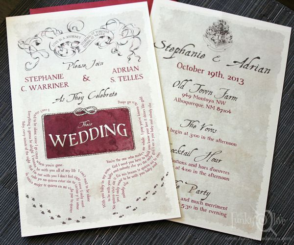 Wedding Invitations Albuquerque: 17 Best Images About Harry Potter On Pinterest