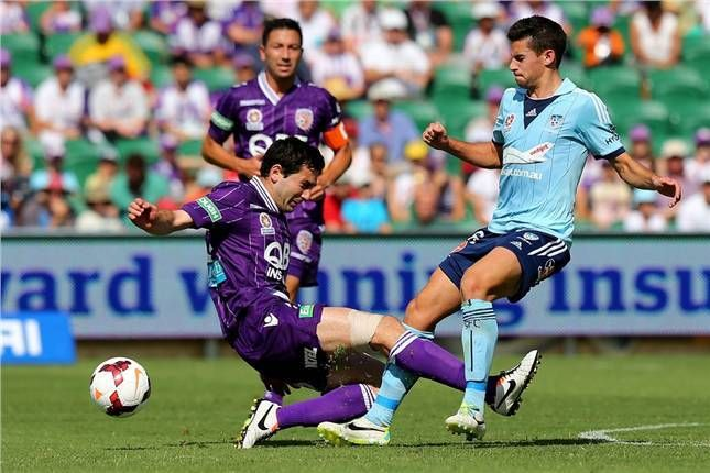 Hard tackling kept Perth in the lead after their opening goal and gave them a 1-0 win over Sydney FC in Rd4.