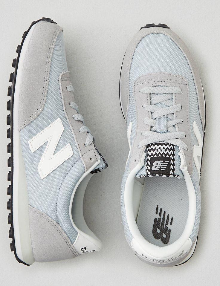 nb u410 Silver new balance 410 trainers sold