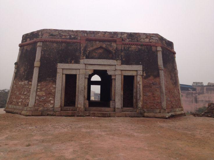 Bijaya Mandal : part of Mohd bin Tughlaq's palace at Jahanpanah