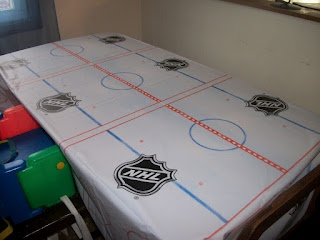 Hockey Party - tablecloth