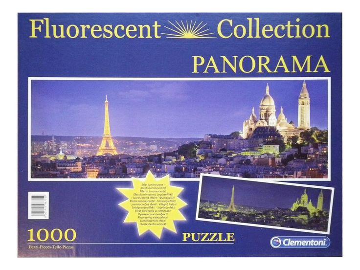 Clementoni Puzzle 1000 Teile Soiree a Paris Fluorescent Collection
