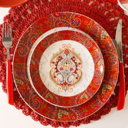 Servizio di piatti 'Cala Moresca' (18 pz)