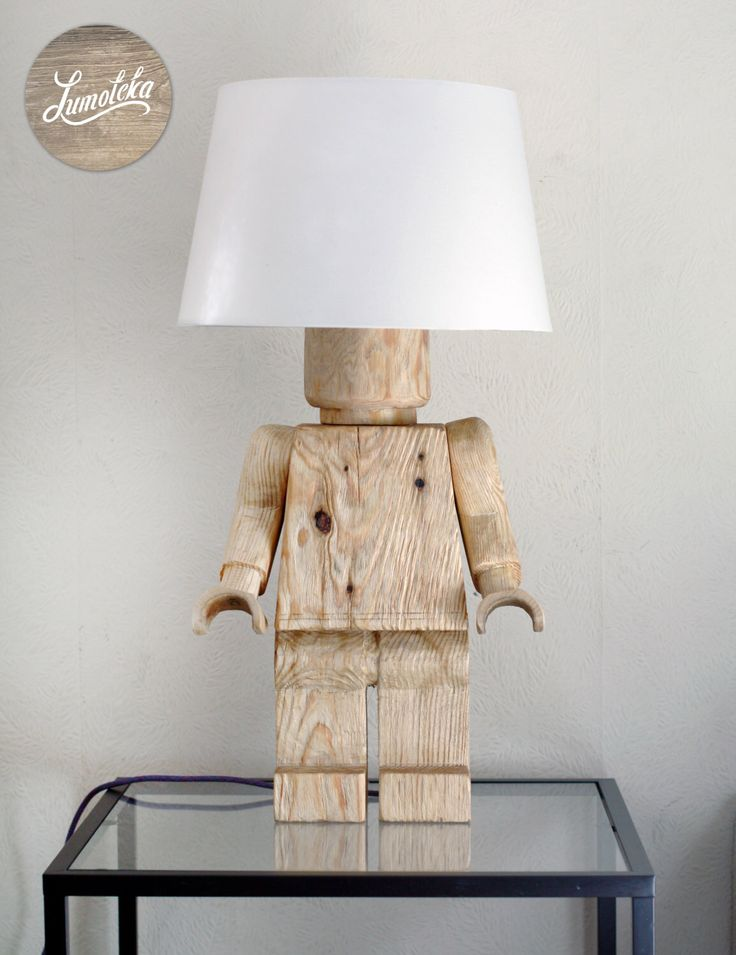 Wooden Lego Table Lamp by Lumoteka on Etsy https://www.etsy.com/listing/228072736/wooden-lego-table-lamp