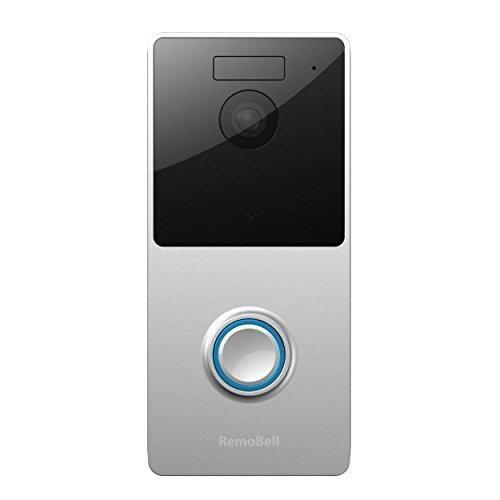 RemoBell WiFi Wireless Video Doorbell (WiFi Wireless Battery powered Night Vision 2-Way Audio HD Video Motion Sensor)