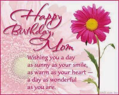 Happy Birthday Mom Quotes http://www.happybirthdaywishesonline.com/