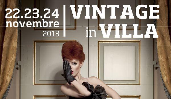 VINTAGE IN VILLA, dal 22 al 24 novembre BRESCIA