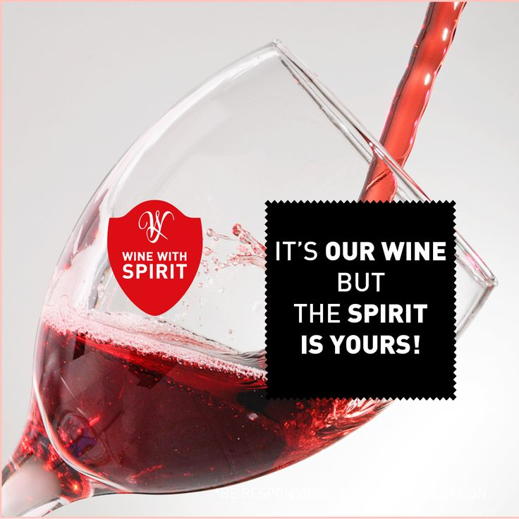 It's our Wine but the Spirit is yours! www.winewithspirit.net #WineWithSpirit #vinho #portugal