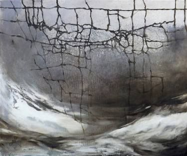 "Saatchi Art Artist Marjan Fahimi; Painting, ""Trapped"" #art"