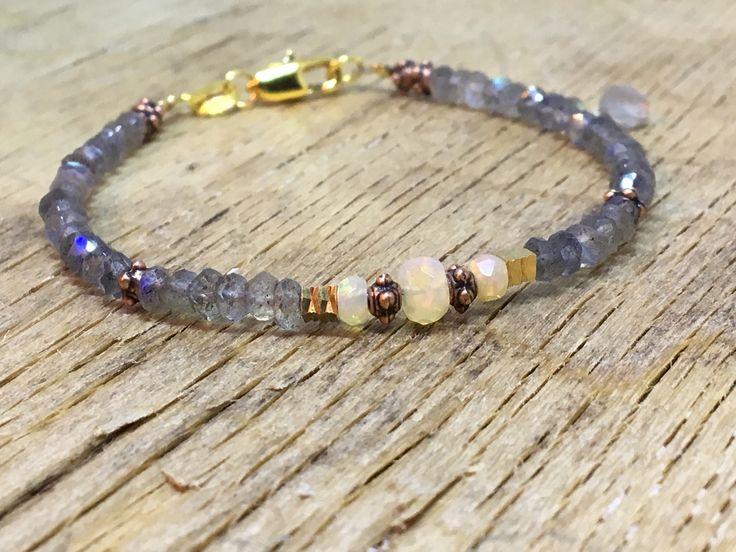 A personal favourite from my Etsy shop https://www.etsy.com/no-en/listing/560593234/welo-fire-opal-labradorite-bracelet