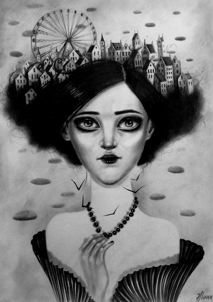 #graphic #illustration #drawing #artist #surrealism