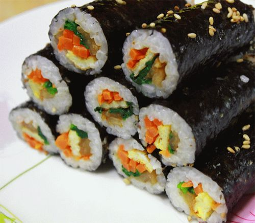 Mini Kimbap