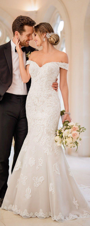 Stella York Wedding Dresses / http://www.deerpearlflowers.com/stella-york-wedding-dresses/  ❤️ #laceweddingdresses #weddingdress #bridaldress