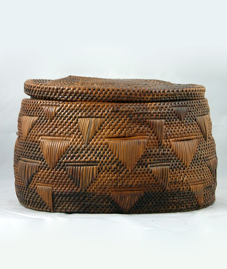 African Baskets With Lids: Central Africa Images On